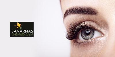 Have long, curly eyelashes with Natural Lash Serum
